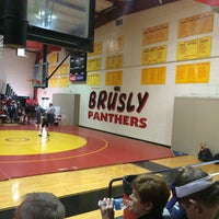 Photo taken at Brusly High School by Terry W. on 1/10/2015