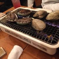 Photo taken at 浜印水産 日ノ出町店 海鮮B.B.Q by kazlish on 3/21/2015
