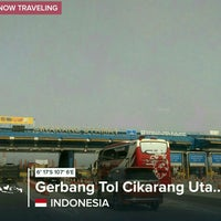 Photo taken at Gerbang Tol Cikarang Utama by Fenny T. on 8/16/2017