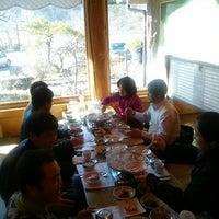 Photo taken at 달맞이흑두부 by 학룡 최. on 12/13/2012