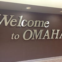 Photo taken at Omaha Eppley Airfield (OMA) by Jessica M. on 7/31/2013