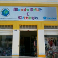 Photo taken at mundo bebe e criança by Gabriel M. on 7/8/2013
