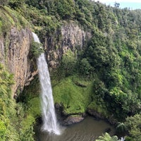 Photo taken at Bridal Veil Falls by Dolores S. on 2/6/2018