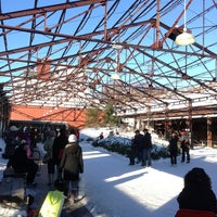 Photo taken at Evergreen Brick Works by Lauren S. on 1/1/2013