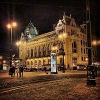 Photo taken at Republic Square by Jiří V. on 1/22/2013