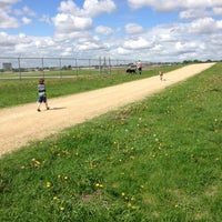 Photo taken at Airport Dog Park by Christopher R. on 6/1/2013
