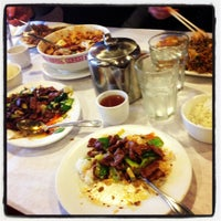 Photo taken at Lao Sze Chuan Restaurant by Krystle on 12/16/2012