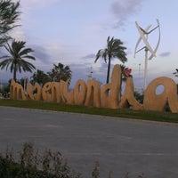 Photo taken at Playa de La Misericordia by JOAQIN J. on 4/8/2013