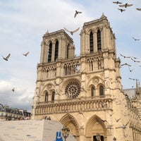 Photo taken at Cathedral of Notre Dame de Paris by Michael M. on 6/26/2013