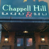 Photo taken at Chappel Hill Bakery & Deli by Patrick M. on 1/12/2013