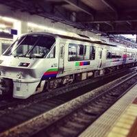 Photo taken at Platforms 3-4 by Yoshinori T. on 3/12/2013