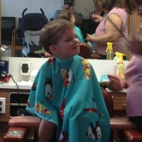Photo taken at Jerry's Barber Shop by Adam C. on 6/23/2013