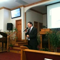 Photo taken at Co-Op City 7th Day Adventist Church by Rebeca F. on 11/3/2012