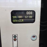 Photo taken at AVE Madrid - Sevilla by Alvaro D. on 3/26/2014
