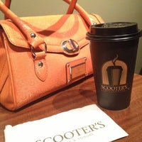 Photo taken at Scooter's Coffeeehouse by Jill C. on 12/8/2012