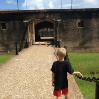 Photo taken at Fort Gaines by Dave G. on 8/11/2013