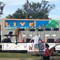 Photo taken at Washington Park Live Arts Music Festival by Dhiraj G. on 9/21/2013