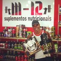 Photo taken at M12 Suplementos Nutricionais by Paulo Estêvão C. on 2/23/2013