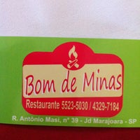 Foto tirada no(a) Restaurante Bom de Minas por Paulo Estêvão C. em 1/19/2013