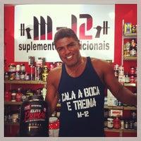 Photo taken at M12 Suplementos Nutricionais by Paulo Estêvão C. on 3/8/2014
