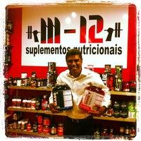 Photo taken at M12 Suplementos Nutricionais by Paulo Estêvão C. on 10/16/2012