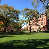 Photo taken at Tufts University by Paul B. on 10/11/2012