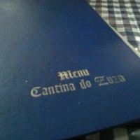 Photo taken at Cantina do Zuza by Elizabete M. on 2/8/2013