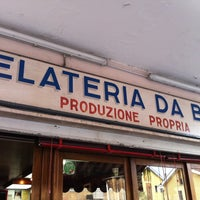 Photo taken at Gelateria da Bepi by Francesco C. on 4/21/2013