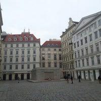 Photo taken at Judenplatz by Jaromir S. on 11/11/2012