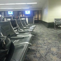 Photo taken at Gate A1 by Ty F. on 3/2/2013