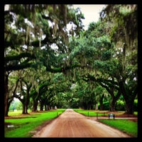 Photo taken at Boone Hall Plantation by Zach W. on 8/16/2013