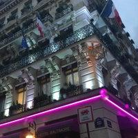 Photo taken at Hôtel Baltimore by Natalia L. on 4/11/2013