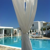 Photo taken at Minois Village Hotel Suites & Spa by Apostolos N. on 6/21/2013