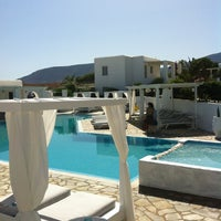 Photo taken at Minois Village Hotel Suites & Spa by Apostolos N. on 6/24/2013