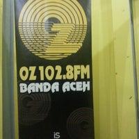 Photo taken at OZ Radio 102.8 FM Banda Aceh by Giring Cynthia Z. on 11/25/2012