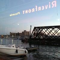 Photo taken at Riverfront Pizzeria by John M. on 8/23/2013