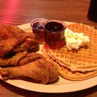 Photo taken at Roscoe's House of Chicken and Waffles by Chris F. on 4/6/2013
