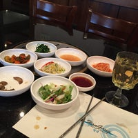 Photo taken at Han Gang Korean Cuisine by Carolyn L. on 5/8/2015