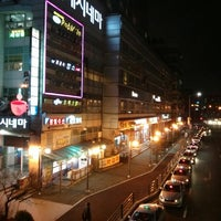 Photo taken at Sanbon Stn. by Hyeong Yong I. on 4/2/2013