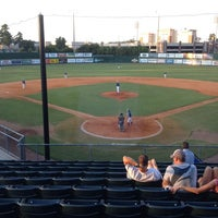 Photo taken at Pat Kenelly Diamond at Alumni Field - SLU Baseball by Damon S. on 7/30/2014