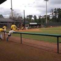 Photo taken at Pat Kenelly Diamond at Alumni Field - SLU Baseball by Damon S. on 10/3/2014