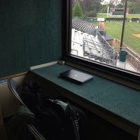 Photo taken at Pat Kenelly Diamond at Alumni Field - SLU Baseball by Damon S. on 5/12/2013