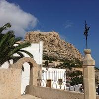 Photo taken at Ermita de la Santa Cruz by Javier O. on 8/23/2014