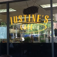 Photo taken at Justine's Cafe by Russell M. on 2/24/2016