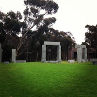 Photo taken at UCSD Stonehenge by Christian M. on 7/3/2013