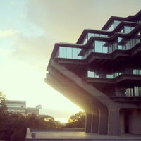 Photo taken at Geisel Library by Christian M. on 10/24/2012