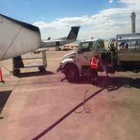 Photo taken at Gate B71 by Rae Y. on 5/17/2013