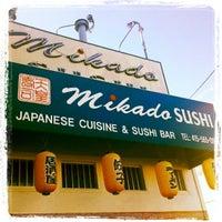 Photo taken at Mikado Sushi by Ron H. on 11/12/2012
