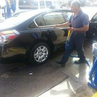 Photo taken at White Glove Car Wash by J M. on 3/15/2013