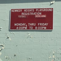 Photo taken at kennedy heights playground by Dion H. on 10/3/2013